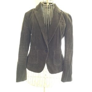 Banana Republic brown corduroy blazer SZ 4